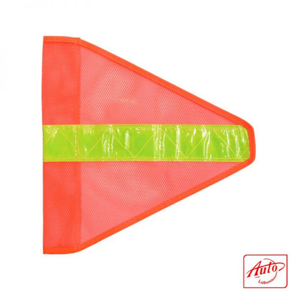 SAFETY FLAG TRIANGLE ORANGE