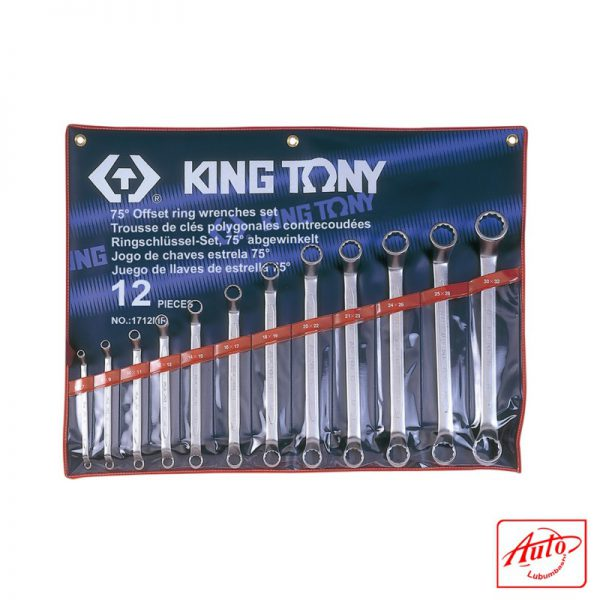 BOX END WRENCH 75°OFFSET SET