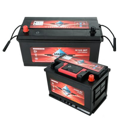 SPARTA Batteries Maintenance Free